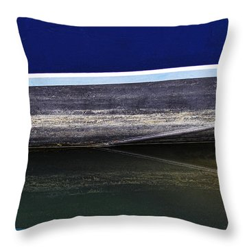 Reflection Number 2 Throw Pillow by Elena Nosyreva