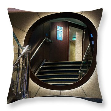 Reflection Stair Throw Pillow