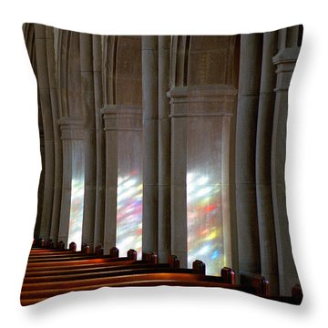 Reflection Throw Pillow by Steve Archbold