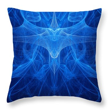 Reflection Throw Pillow by Vitaliy Gladkiy
