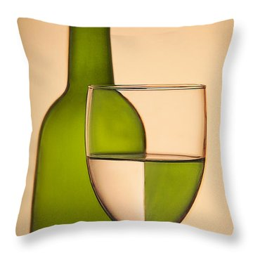 Reflections And Refractions Throw Pillow by Susan Candelario