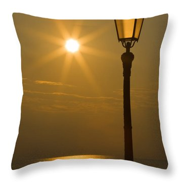 Reflections Throw Pillow by Antonio Scarpi