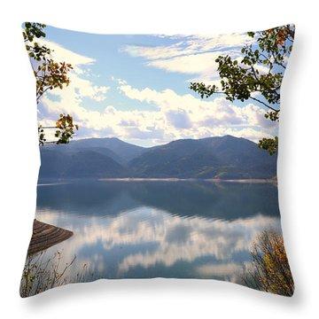 Reflections At Palisades Throw Pillow