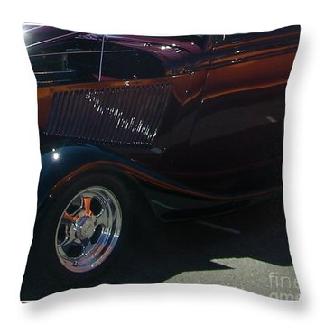 Throw Pillow featuring the photograph Reflections by Bobbee Rickard