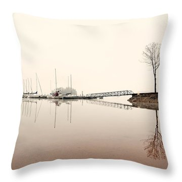 Reflections Throw Pillow by Brent Craft
