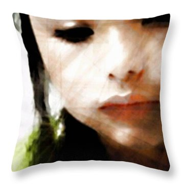 Reflections Throw Pillow by Gun Legler
