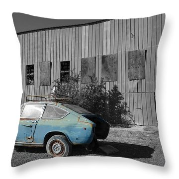 Reflections In Black And White Throw Pillow