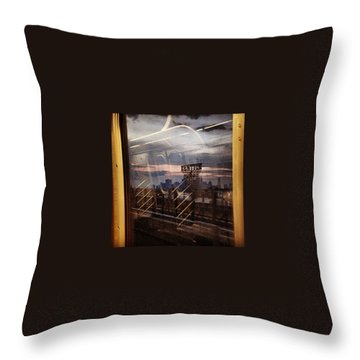 New York City Skyline Throw Pillows