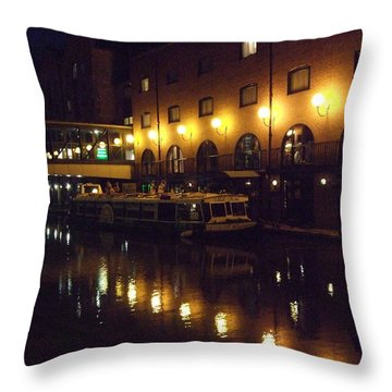 Throw Pillow featuring the photograph Reflections by Jean Walker
