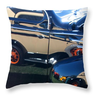 Throw Pillow featuring the photograph Reflections by Joe Kozlowski
