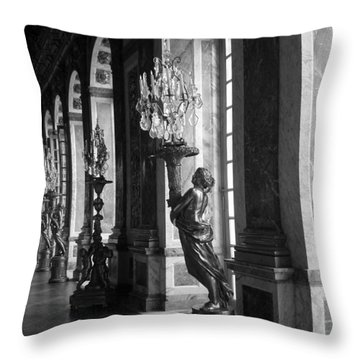 Throw Pillow featuring the photograph Reflections by Meaghan Troup