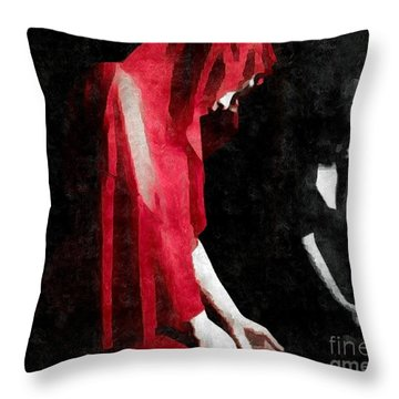Reflections Of A Broken Heart Throw Pillow