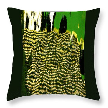 Reflections Of Africa Throw Pillow by Jocelyn Kahawai