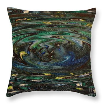 Reflections Of Christmas #3 Throw Pillow by Wayne Cantrell