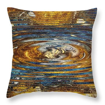 Reflections Of Christmas #4 Throw Pillow by Wayne Cantrell