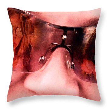 Reflections Of Dreams Throw Pillow