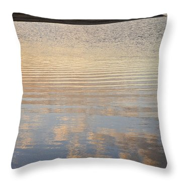 Reflections Of Dusk Throw Pillow
