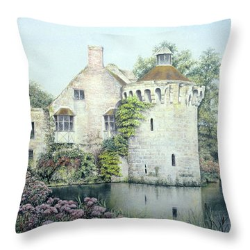 Reflections Of England Throw Pillow
