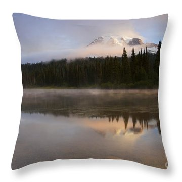 Reflections Of Majesty Throw Pillow