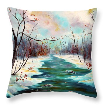 Reflections Of Worship Throw Pillow