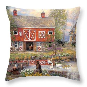 Tractor Throw Pillows