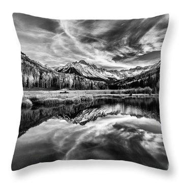 Reflections Throw Pillow by Steven Reed