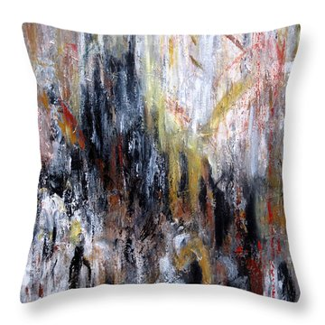 Reflective Emotions Throw Pillow