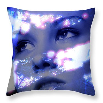 Reflective Throw Pillow