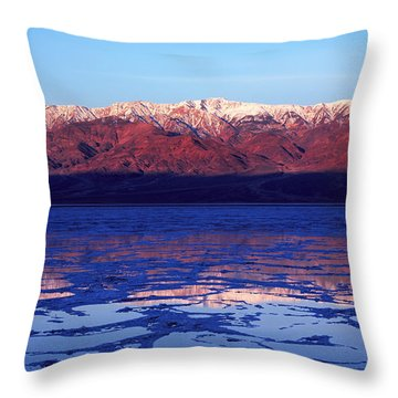 Reflex Of Bad Water Throw Pillow