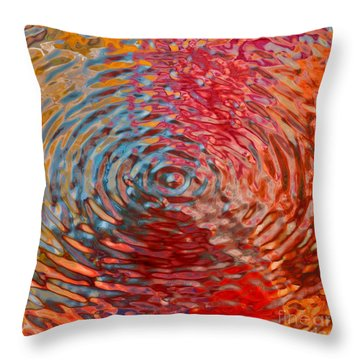 Refraction Abstraction Throw Pillow