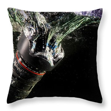 Regrets Throw Pillow by Rene Triay Photography