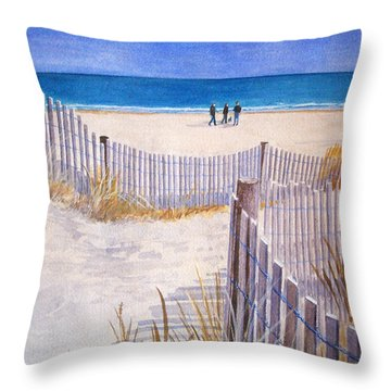 Rehoboth Beach Delaware  Throw Pillow