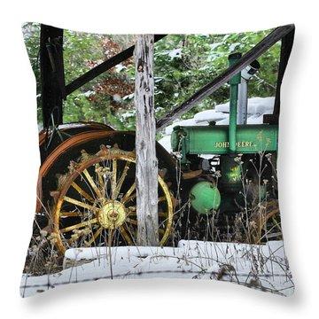 Rein Deere Throw Pillow