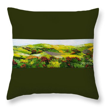 Rejoice Once Again Throw Pillow by Allan P Friedlander