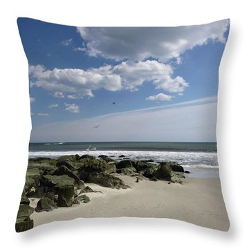 Rejoicing In The Day Throw Pillow