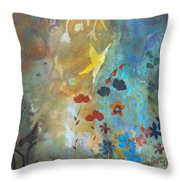 Rejuvenate Throw Pillow by Robin Maria Pedrero