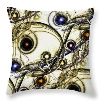 Rejuvenation Throw Pillow by Anastasiya Malakhova