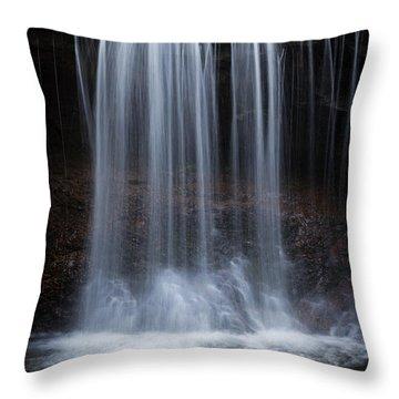 Relative Dynamic Viscosity Throw Pillow by John Stephens