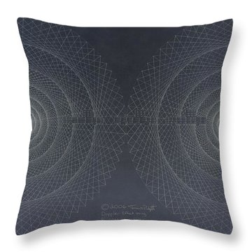 Relativity Throw Pillow