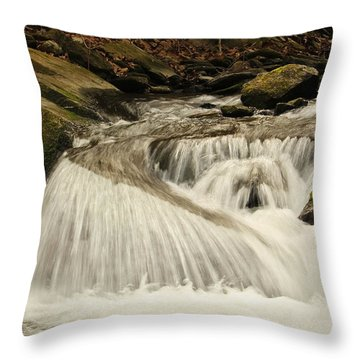 Relax And Listen....she Is Talking Throw Pillow by Tammy Schneider