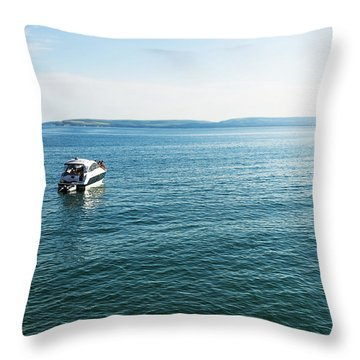 Relax Time Throw Pillow by Svetlana Sewell
