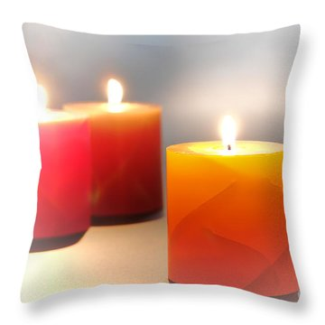 Relaxation Throw Pillow by Olivier Le Queinec