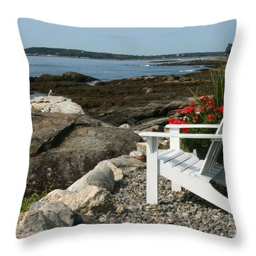 Relaxing Afternoon Throw Pillow by Mariarosa Rockefeller