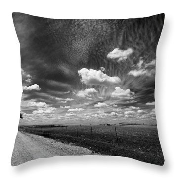 Relaxing Sunday Drive 1 Throw Pillow