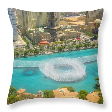 Release To Dance Throw Pillow by Angela J Wright