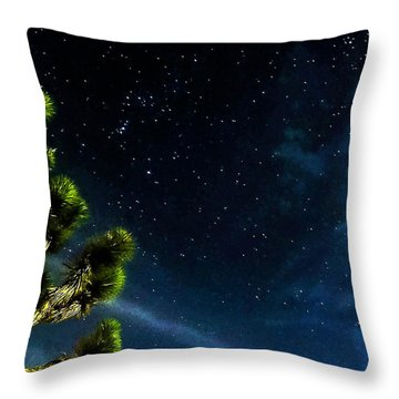Releasing The Stars Throw Pillow