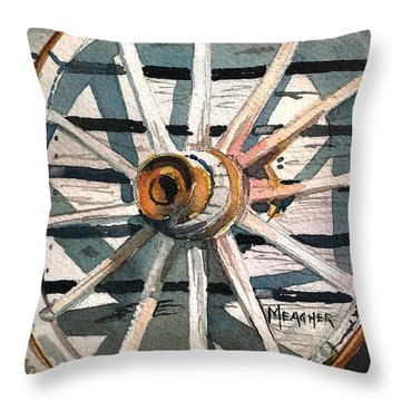 Relic Of The Past Throw Pillow by Spencer Meagher