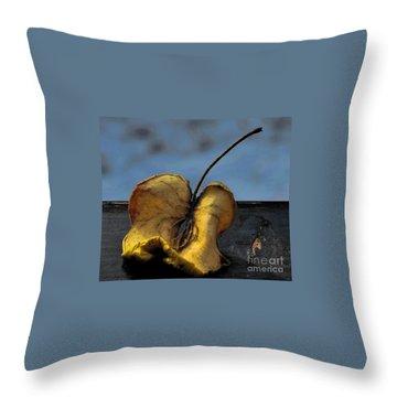 What's Left Over... Throw Pillow by Marija Djedovic