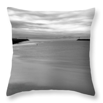 Remains Of The Storm Throw Pillow by Heidi Smith