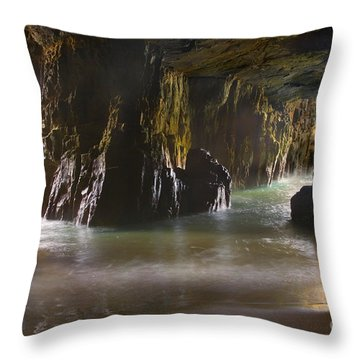 Tasman Sea Throw Pillows